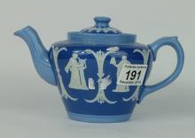 Wedgwood Tri-colour teapot