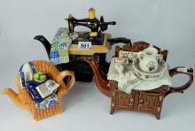 Cardew Teapots Sewing machine, Washstand and Armchair (3)