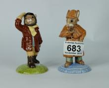Royal Doulton Limited edition Bunnykins figures Detective DB193 and Airman DB199 (2) (both boxed with certificates)