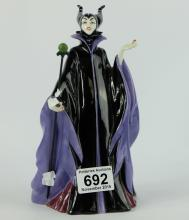 Royal Doulton limited edition large figure Maleficent HN3840 from the Disney Villain collection (broken staff) (boxed)