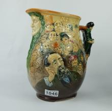 Royal Doulton large The Dickens Jug (not numbered )