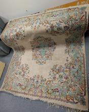 Large woolen carpet