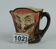 Royal Doulton small character jug Mephistopheles with verse