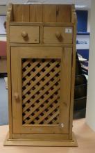 Reclaimed Pine kitchen bracket unit