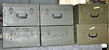 12 SNIPERSCOPE CARRYING CASES.