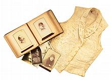 PELHAM FAMILY PHOTO ALBUM WITH VEST.