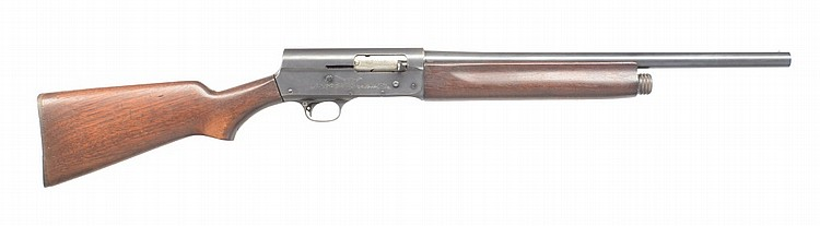 Remington 11 Riot U.S. Marked Shotgun.