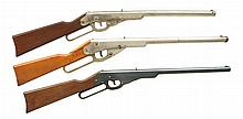 3 DAISY LEVER ACTION BB RIFLES.