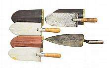 4 INDIAN WAR MILITARY KNIVES.