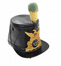 CIVIL WAR ERA IMPORT U.S. SHAKO.