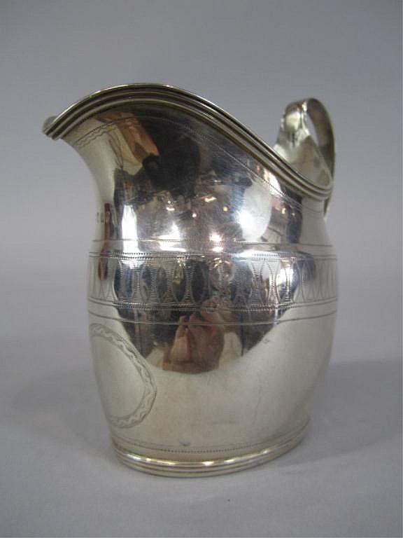 A44-41  ENGLISH STERLING CREAMER