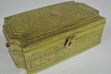 19TH CENTURY METAL BOX