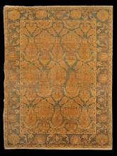 SEMI - ANTIQUE OUSHAK CARPET, 8' 8
