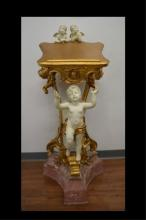 BIBLE STAND WITH CHERUBS