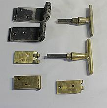 Hinges and Door Handles