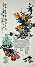 Wu Changshuo ; Chinese Scroll Painting