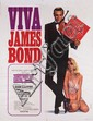 Viva James Bond festival Dr. No 1970 French grande poster.