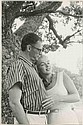 Oversize vintage master prints (5) of Marilyn Monroe and Arthur Miller by Sam Shaw.