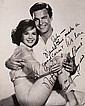 Natalie Wood and Robert Wagner oversized signed photo.