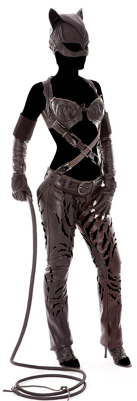 """Halle Berry """"Catwoman"""" costume created for Catwoman."""