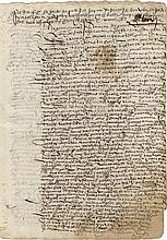[Slavery]. Four manuscript documents signed.