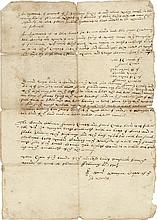 [Colonial America]. (14) 17th century documents.