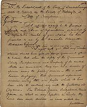 Adams, John. Letter signed, Philadelphia, 5 July 1798.