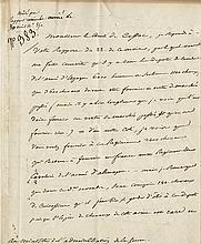 Bonaparte, Napoleon. Letter signed, 30 April 1812