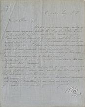 Lee, Robert E. Manuscript document signed