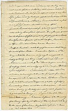 Gerry, Elbridge. Manuscript letter in a secretarial hand docketed.