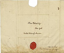 Adams, John Quincy. Autograph letter signed (