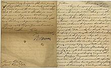 Morris, Robert. Letter signed (