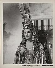 Cleopatra (15) vintage production photographs.