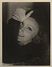 Greta Garbo oversize photographic portrait by Clarence Sinclair Bull.