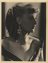 Greta Garbo oversize photographic portrait by Hurrell.