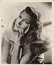 Rita Hayworth vintage photographic portrait by Coburn from Gilda.