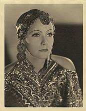 Greta Garbo vintage oversize photographic portrait by Clarence Sinclair Bull.