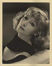 Greta Garbo vintage oversize portrait by Clarence Sinclair Bull from Susan Lenox.
