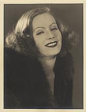 Greta Garbo vintage photographic portrait by Ruth Harriet Louise.