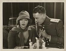 Greta Garbo and John Gilbert vintage photograph by William Grimes from Love.