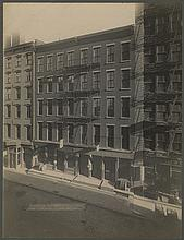 New York City views by Irving Underhill (18) vintage photographic prints.
