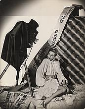 Ann Sothern and Evelyn Keyes (2) oversize photographs.
