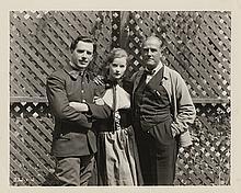 Greta Garbo (6) vintage photographs including (2) unusual candid news shots.