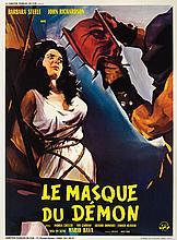 Black Sunday French affiché poster.