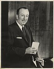 Walt Disney signed photograph to Sal Mineo.