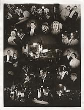 Grand Hotel oversize montage photograph from Grauman's Chinese Theatre premiere.