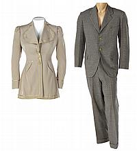 Fay Wray jacket and Warner Baxter costume from Adam Had Four Sons.