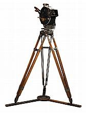 Hearst Metrotone Newsreels Akeley 35mm motion picture camera.