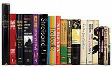 Collection of (35+) vintage hardcover books on music and musicians.