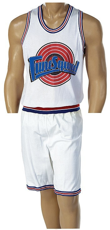 Michael Jordan uniform from Space Jam.